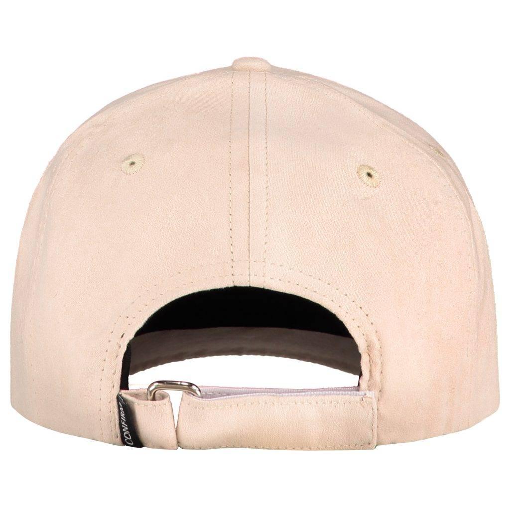 Confirm Brand suede look cap - nude-3
