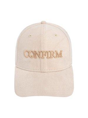 Confirm Brand suede look cap - nude