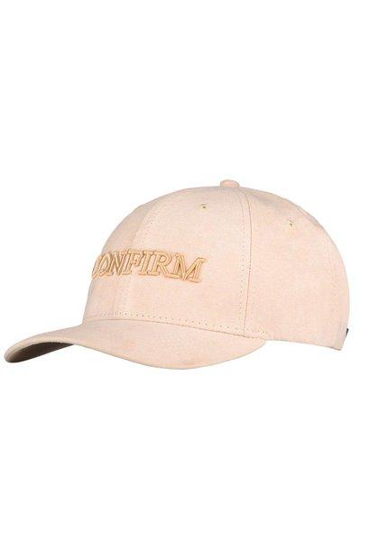 Brand Suede Cap Salmon