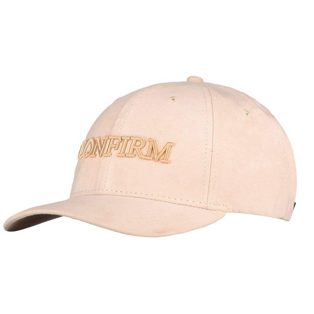Confirm Brand suede look cap - nude-1