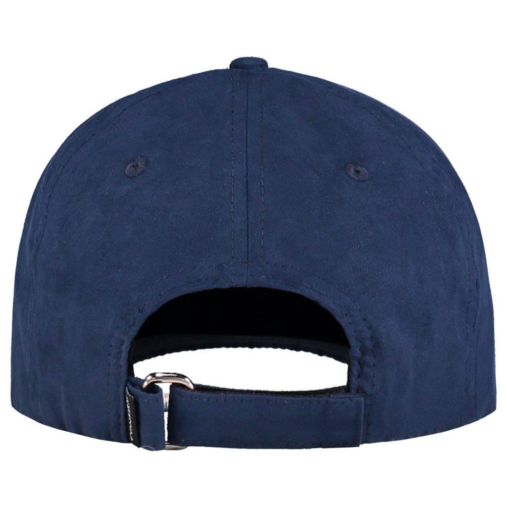 Confirm Brand Suede Cap Blauw-3