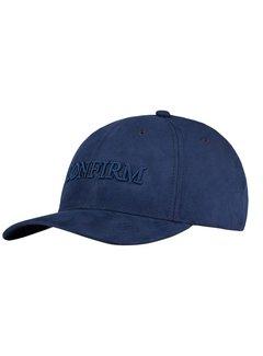 Confirm Brand Suede Cap Blauw