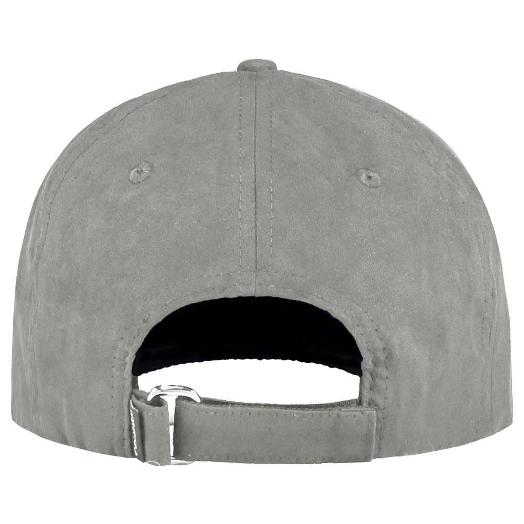 Confirm brand suede look cap - light grey-3