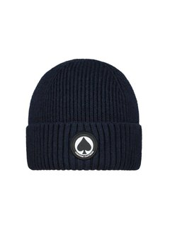 Confirm Beanie Patch Donkerblauw