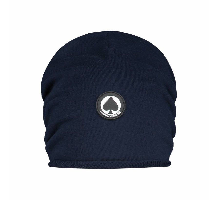 Confirm Beanie Spade Patch - Donkerblauw