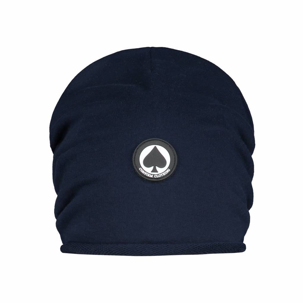 Confirm Beanie Spade Patch - Donkerblauw-1