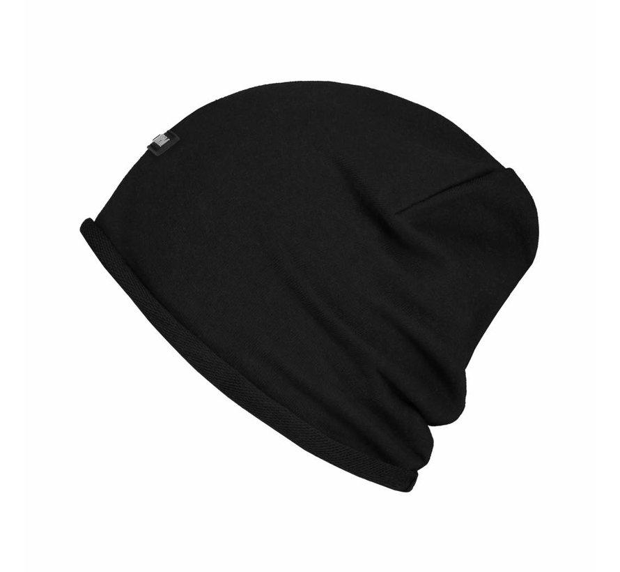 Confirm Beanie Brand Patch - Zwart