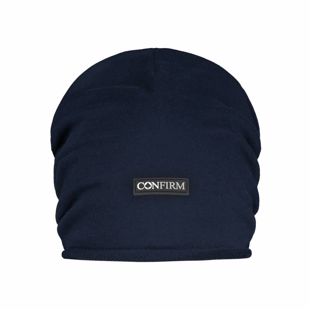Confirm Beanie Brand Patch - Donkerblauw-1