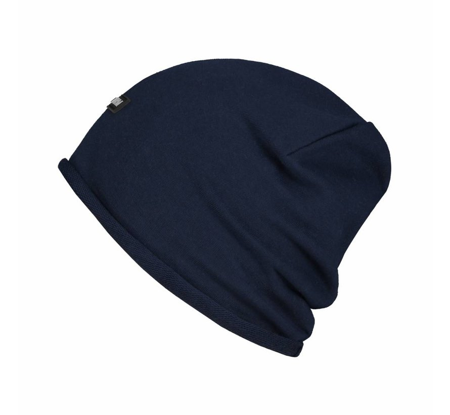 Confirm Beanie Brand Patch - Donkerblauw