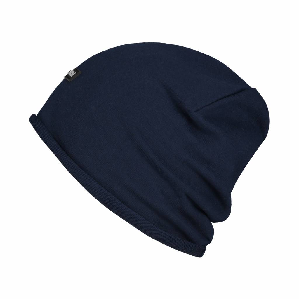 Confirm Beanie Brand Patch - Donkerblauw-2