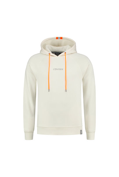 Fluor Reflective Hoodie - Offwhite