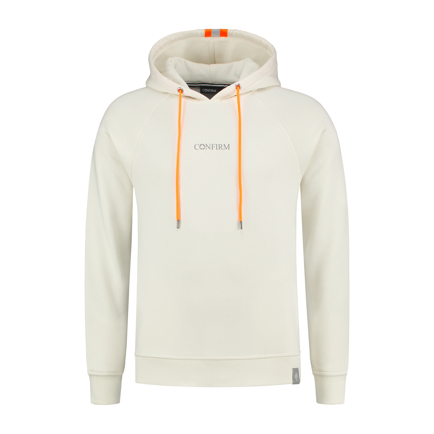 Confirm Fluor Reflective Hoodie - Offwhite-1