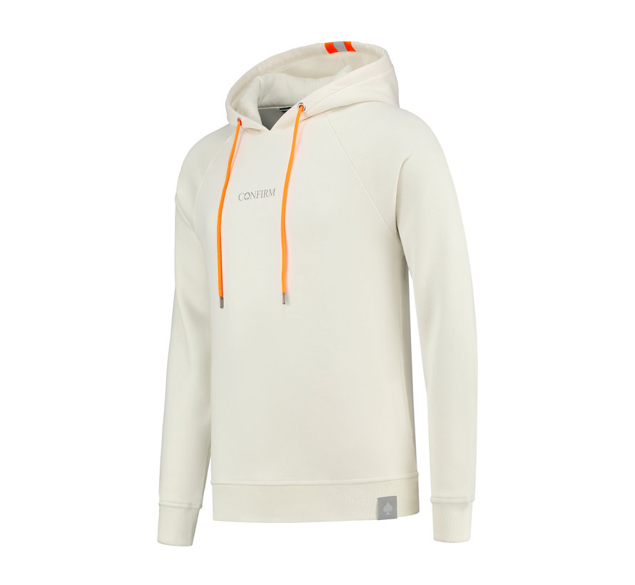 Confirm Fluor Reflective Hoodie - Offwhite
