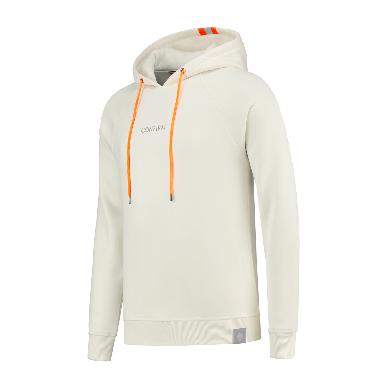 Confirm Fluor Reflective Hoodie - Offwhite-2
