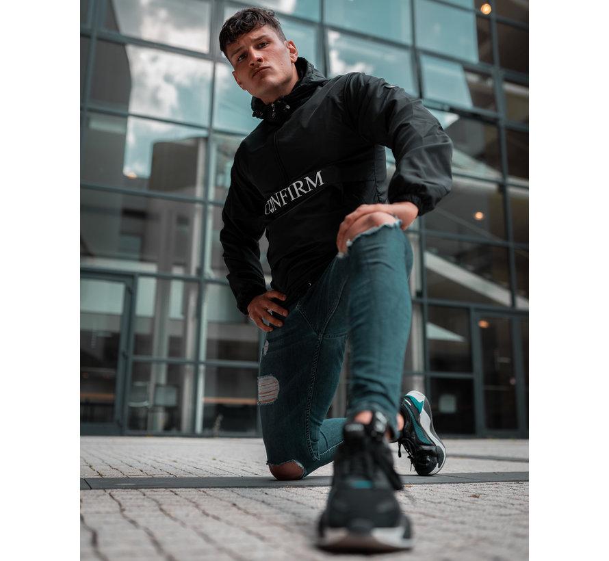 Confirm Brand Windbreaker - Zwart
