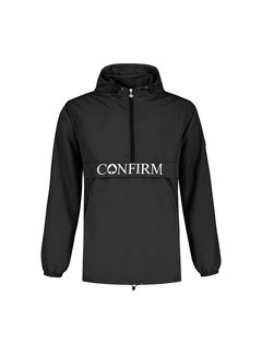 Confirm Brand Windbreaker - Black