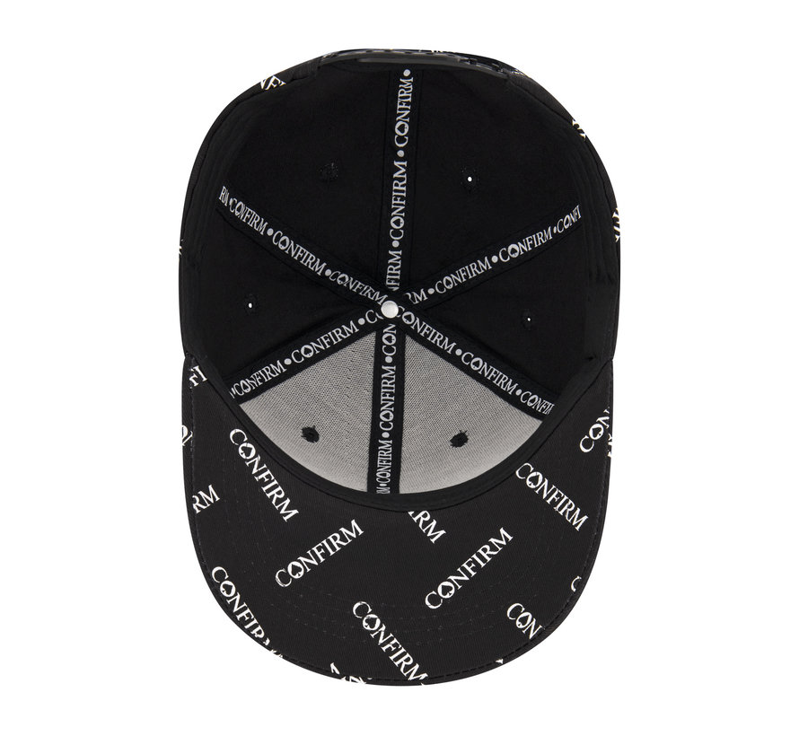 Confirm Brand Suede Cap  All over Confirm