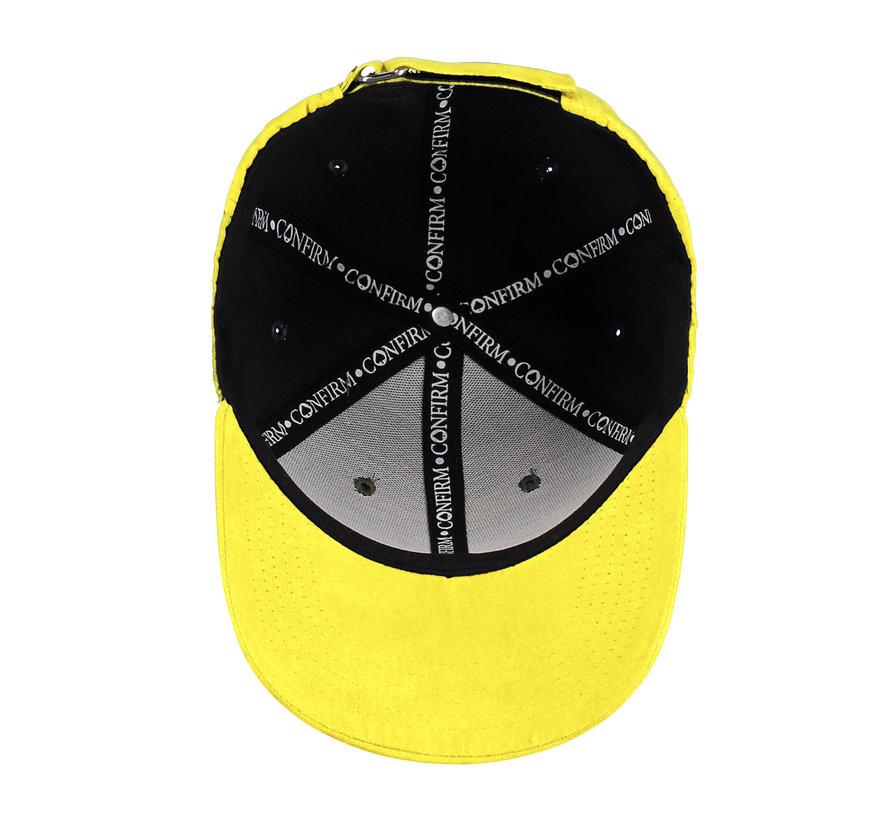 Confirm Brand Suede Cap Yellow