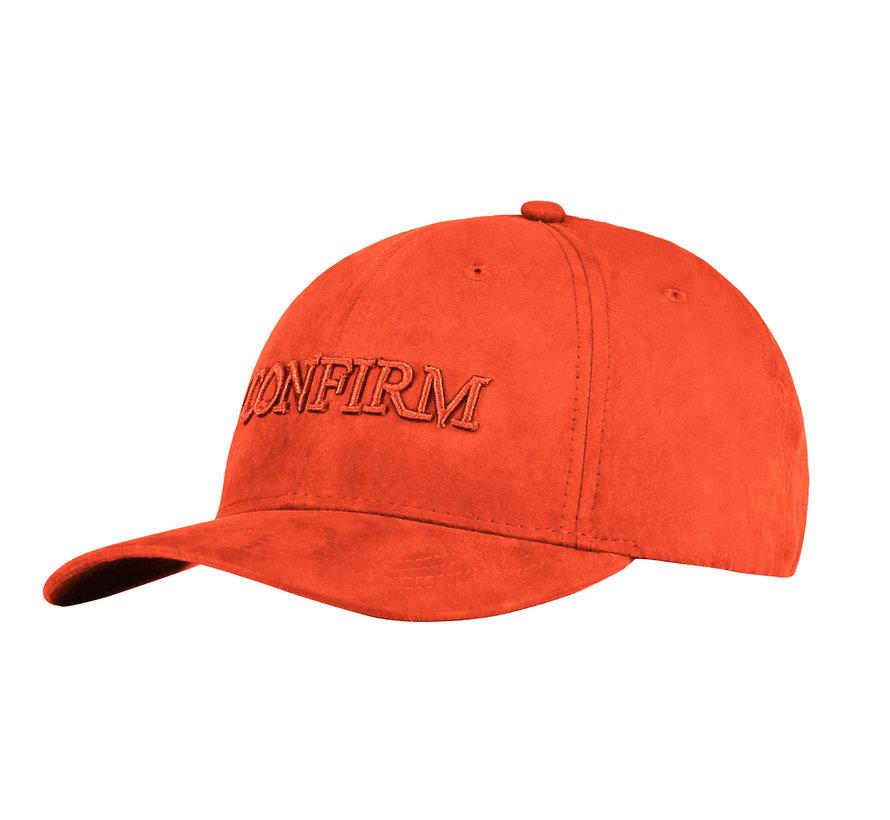 Confirm Brand Suede Cap  Oranje
