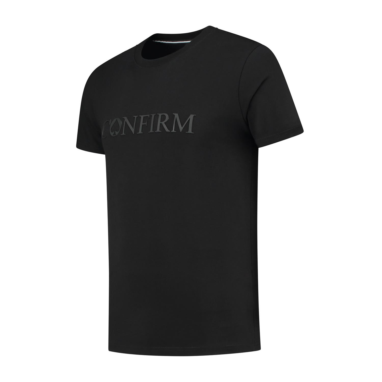Confirm Brand T-shirt 3D - Black-2