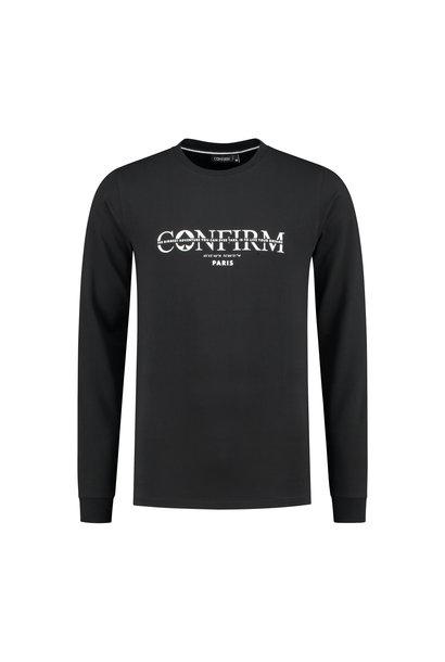 Brand T-shirt LS Adventure Zwart