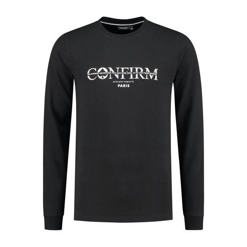 Brand T-shirt Adventure -  black