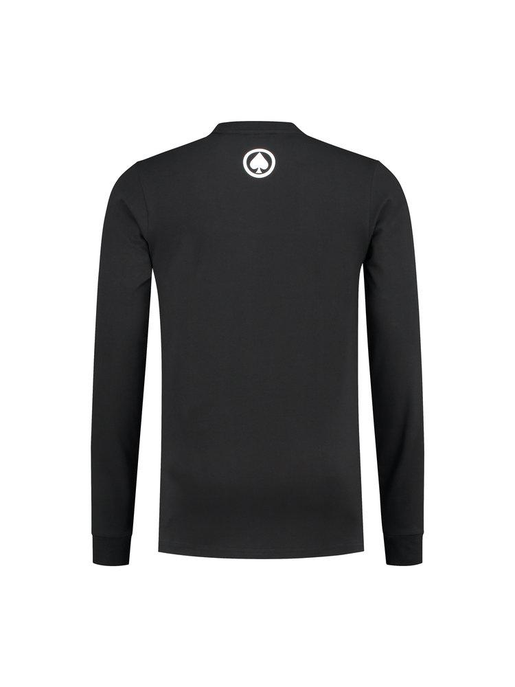 Confirm | Brand T-shirt LS Adventure - zwart