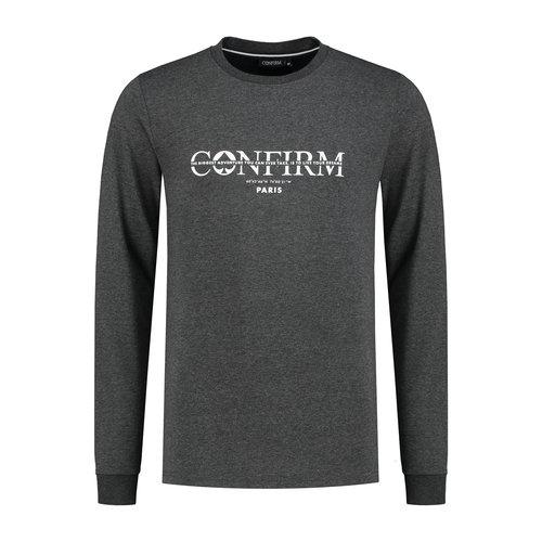 Brand T-shirt  Adventure - donkergrijs