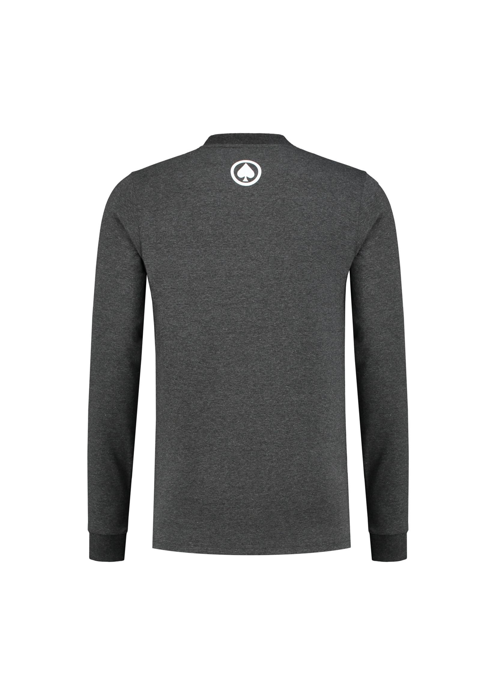 Confirm    Brand T-shirt  Long Sleeve Adventure - donkergrijs