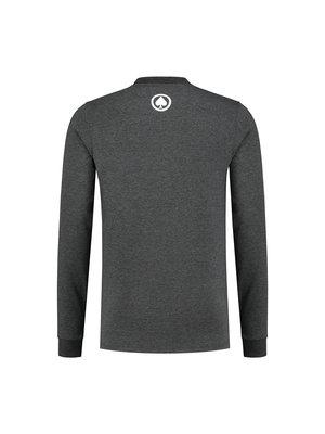 Confirm |  Brand T-shirt  Long Sleeve Adventure - donkergrijs