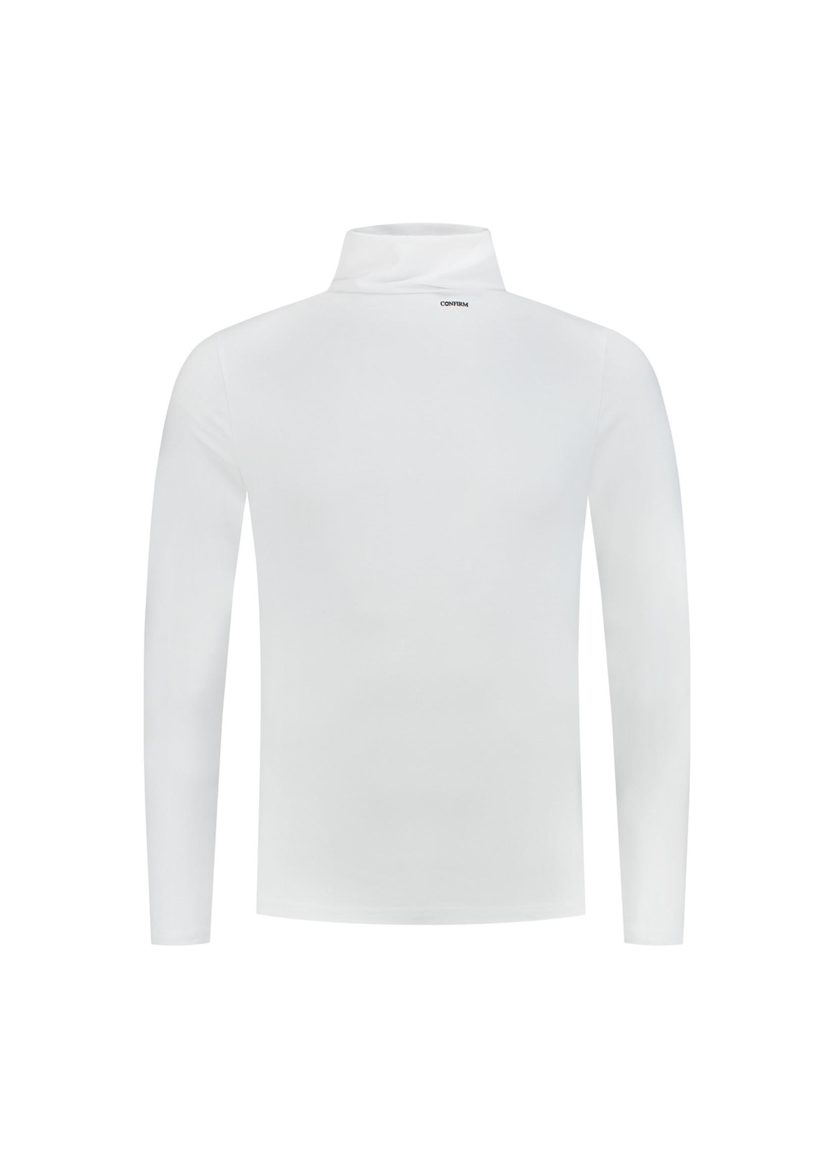 Confirm   Basic Turtleneck  - White