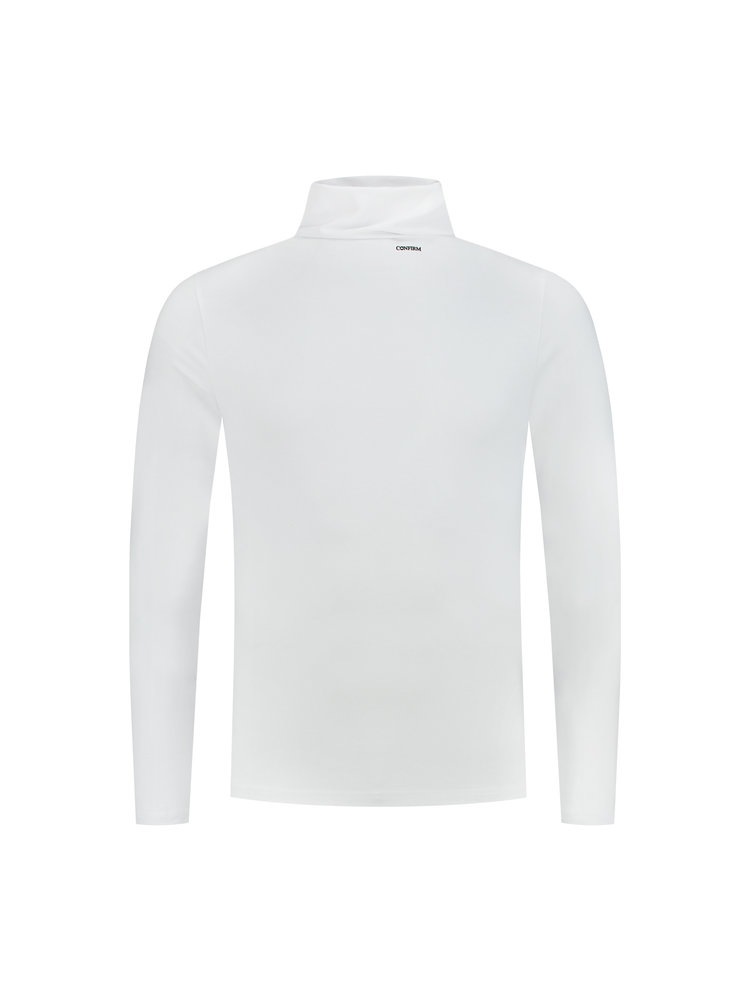 Confirm | Basic Turtleneck  - White