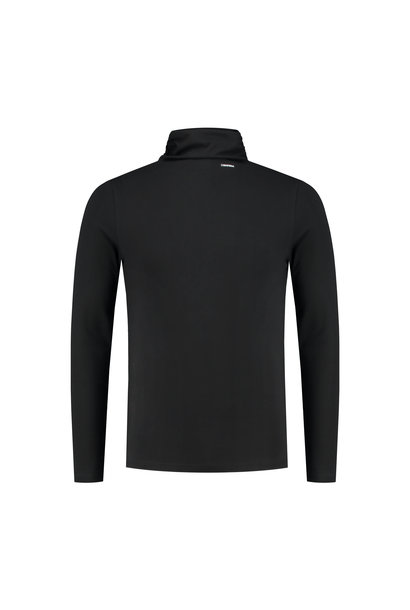 Basic Turtleneck Confirm - Zwart