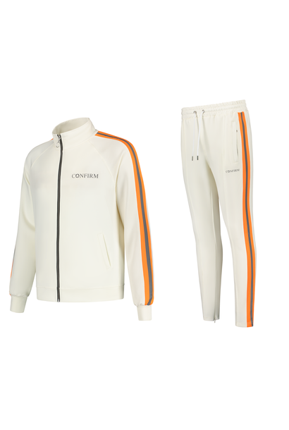 Retro Tracksuit Reflective Subtle - OffWhite/Neon
