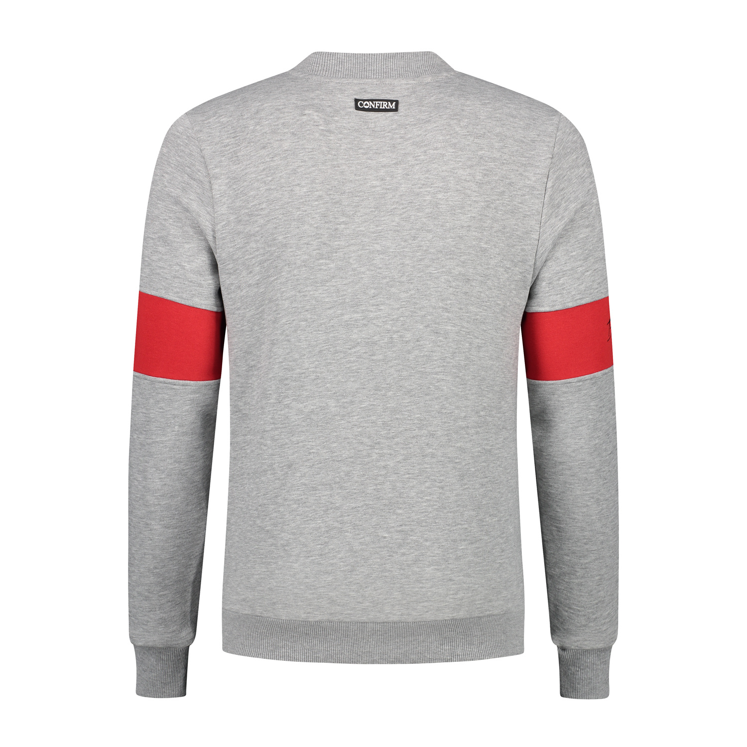 Confirm | Brand Zip Sweater Blind for Love - Grey-3
