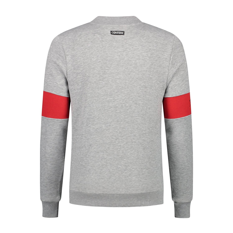 Confirm | Brand Zip Sweater Blind for Love - Grijs-3