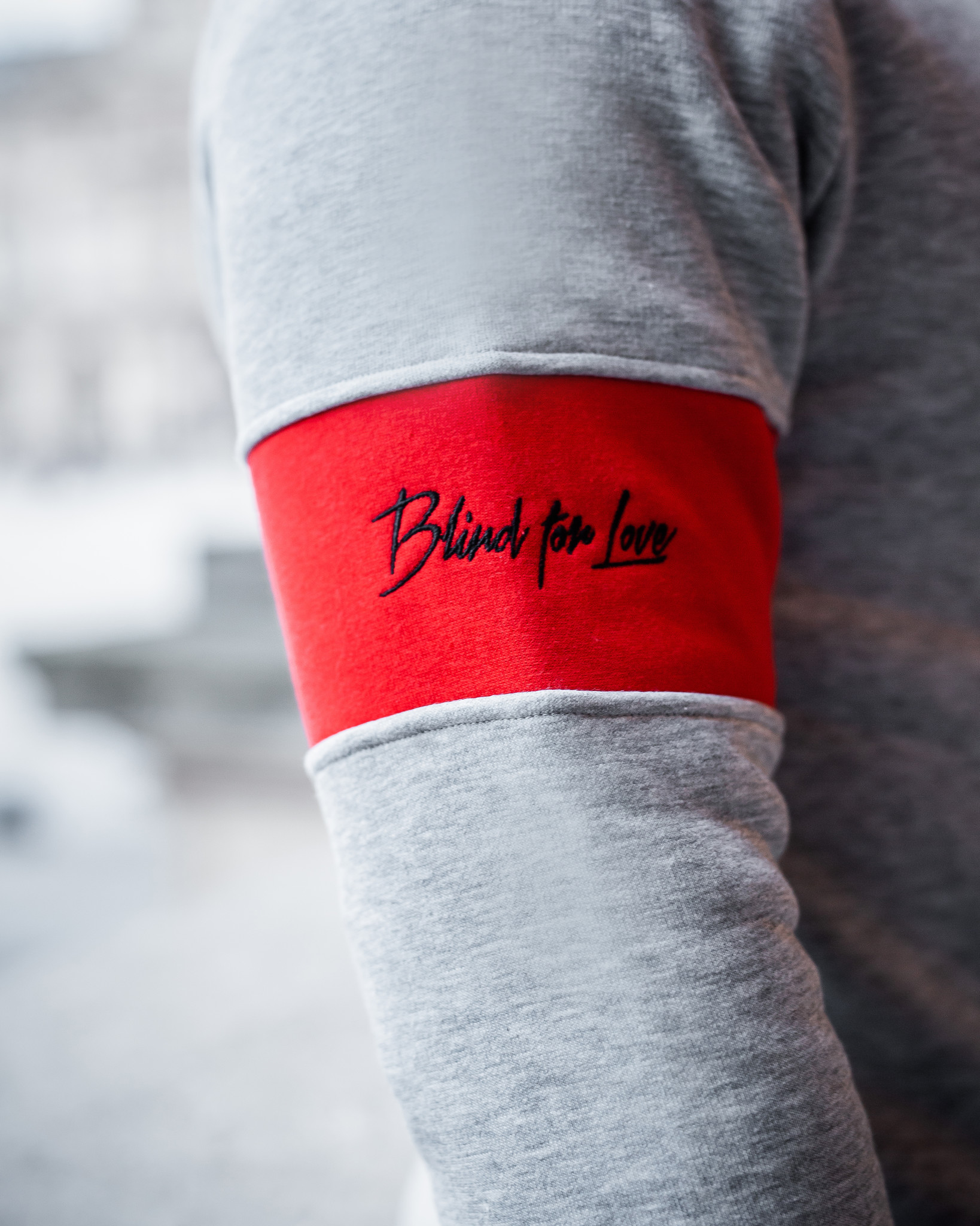 Confirm | Brand Zip Sweater Blind for Love - Grijs-4
