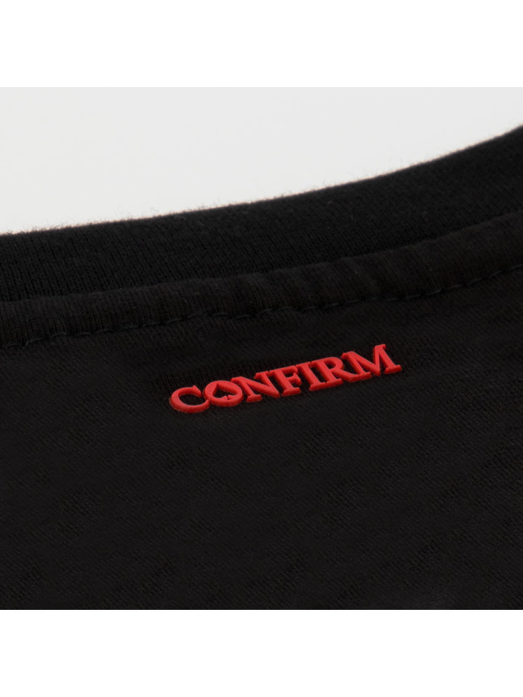 Confirm T-shirt Confirm your life - black