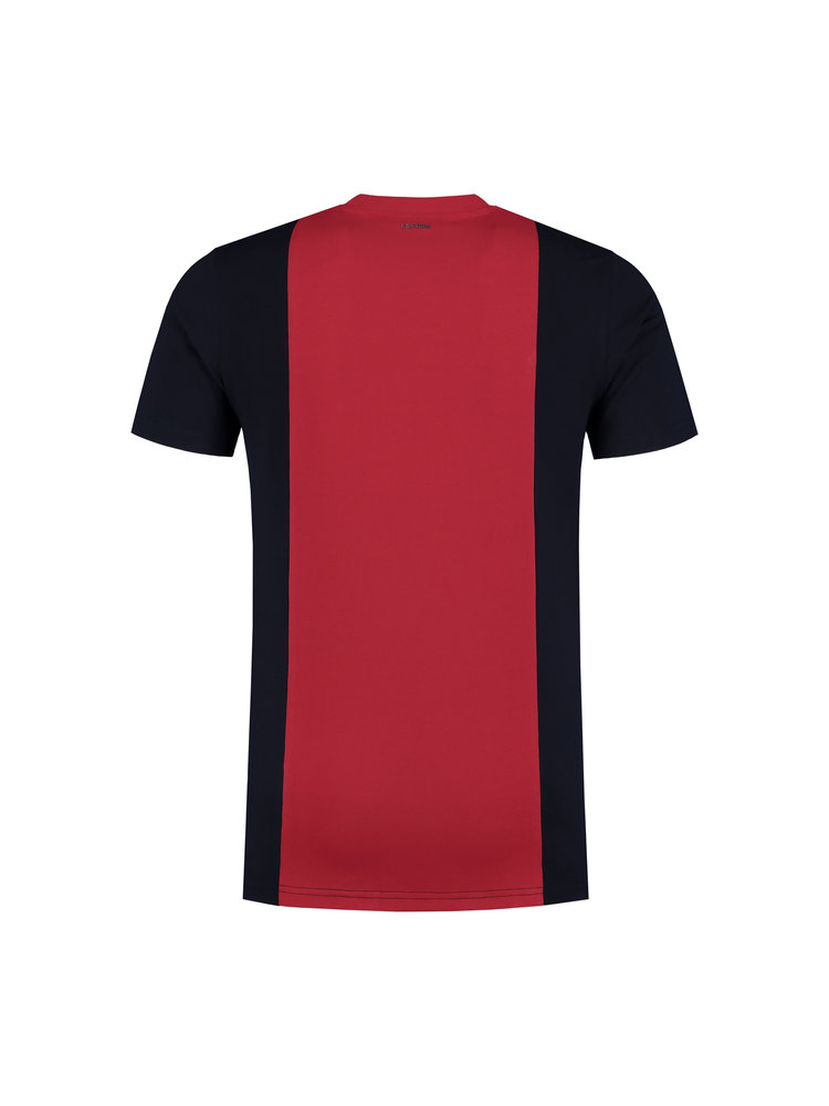Confirm T-shirt baseball CF - red/navy