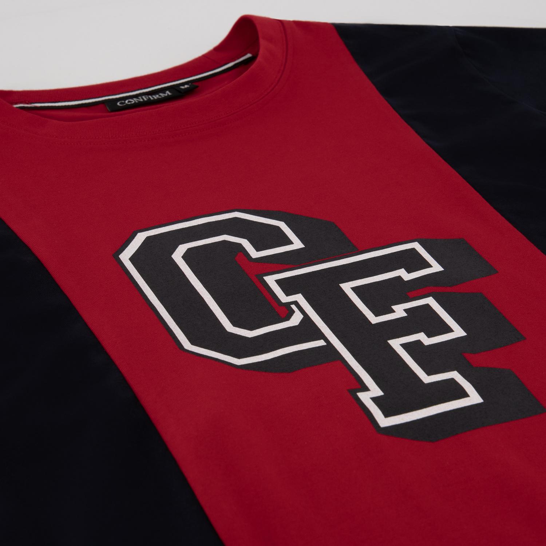 T-SHIRT BASEBALL CF  - RED NAVY-4