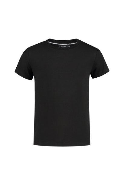 JUNIOR BASIC T-SHIRT - BLACK