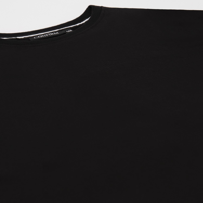 JUNIOR BASIC T-SHIRT - BLACK-2