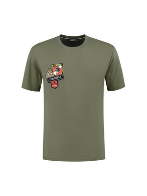 Confirm T-shirt patches - army