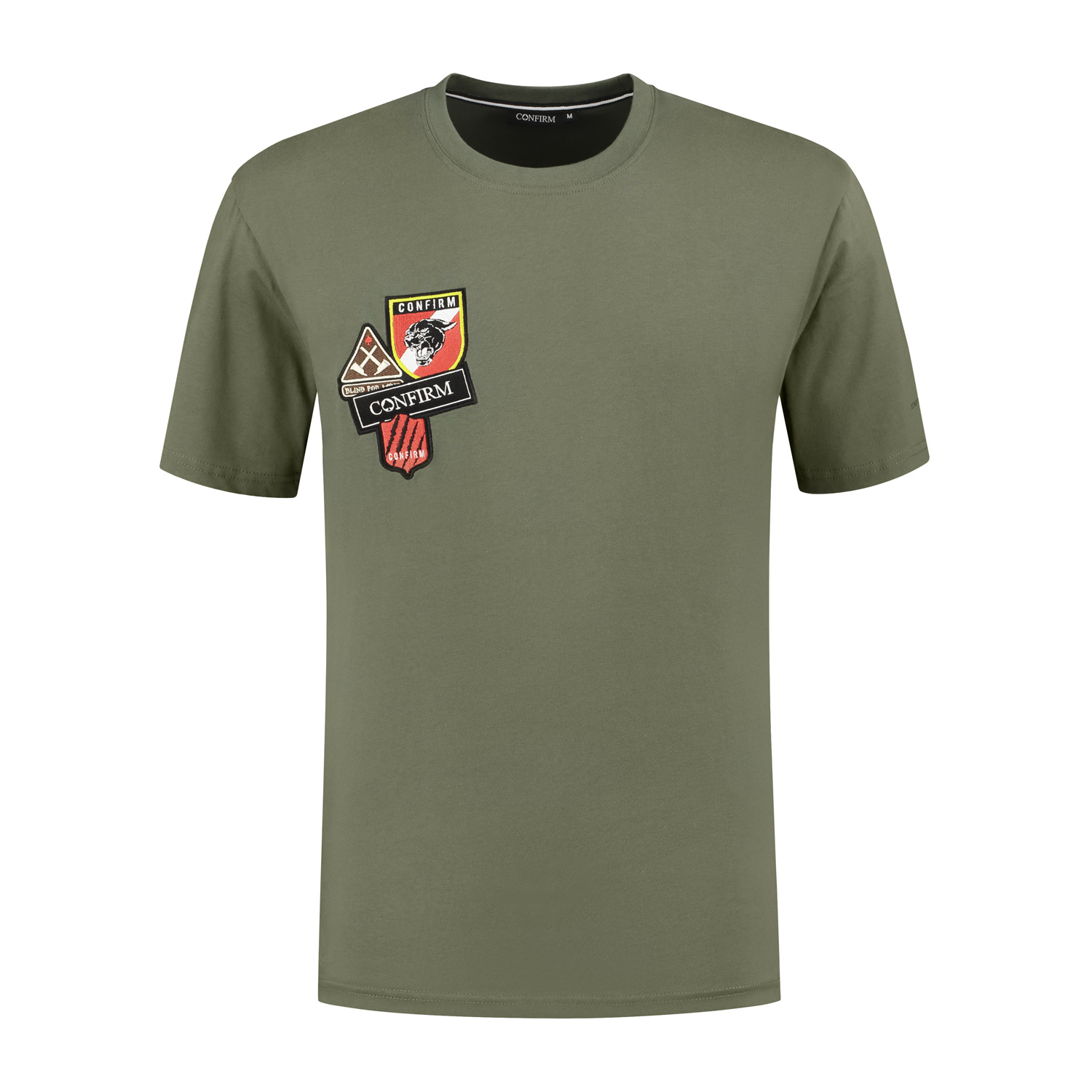 Confirm T-shirt patches - army-1