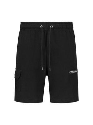 Short with pocket - black