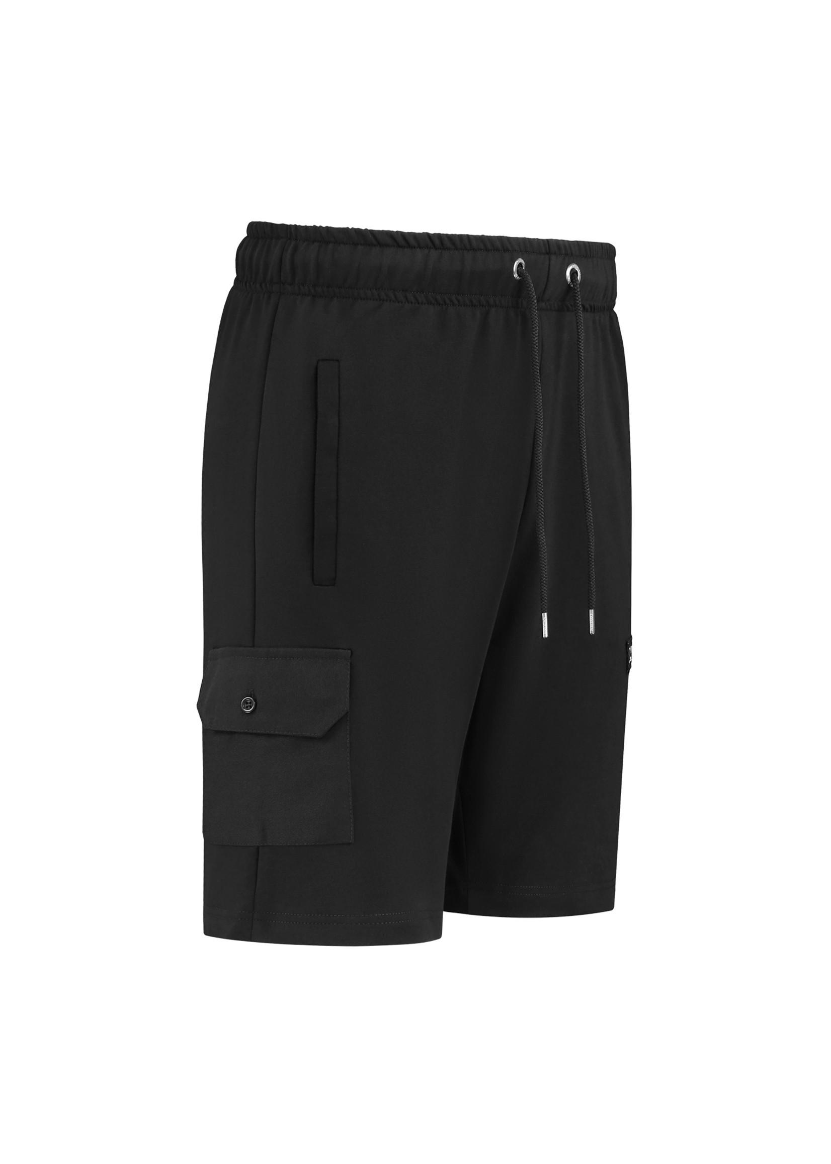Confirm Short with pocket - black
