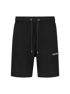 Korte broek patch - zwart