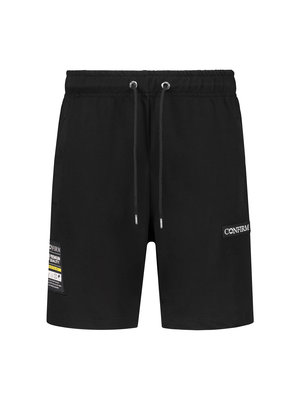 Korte broek  pocketlabel - zwart