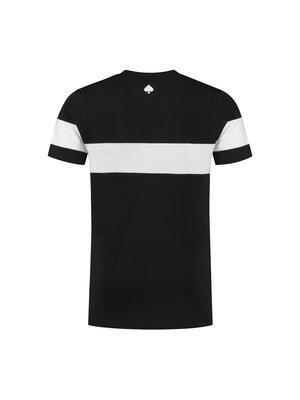 Confirm brand T-shirt banner 3D - zwart