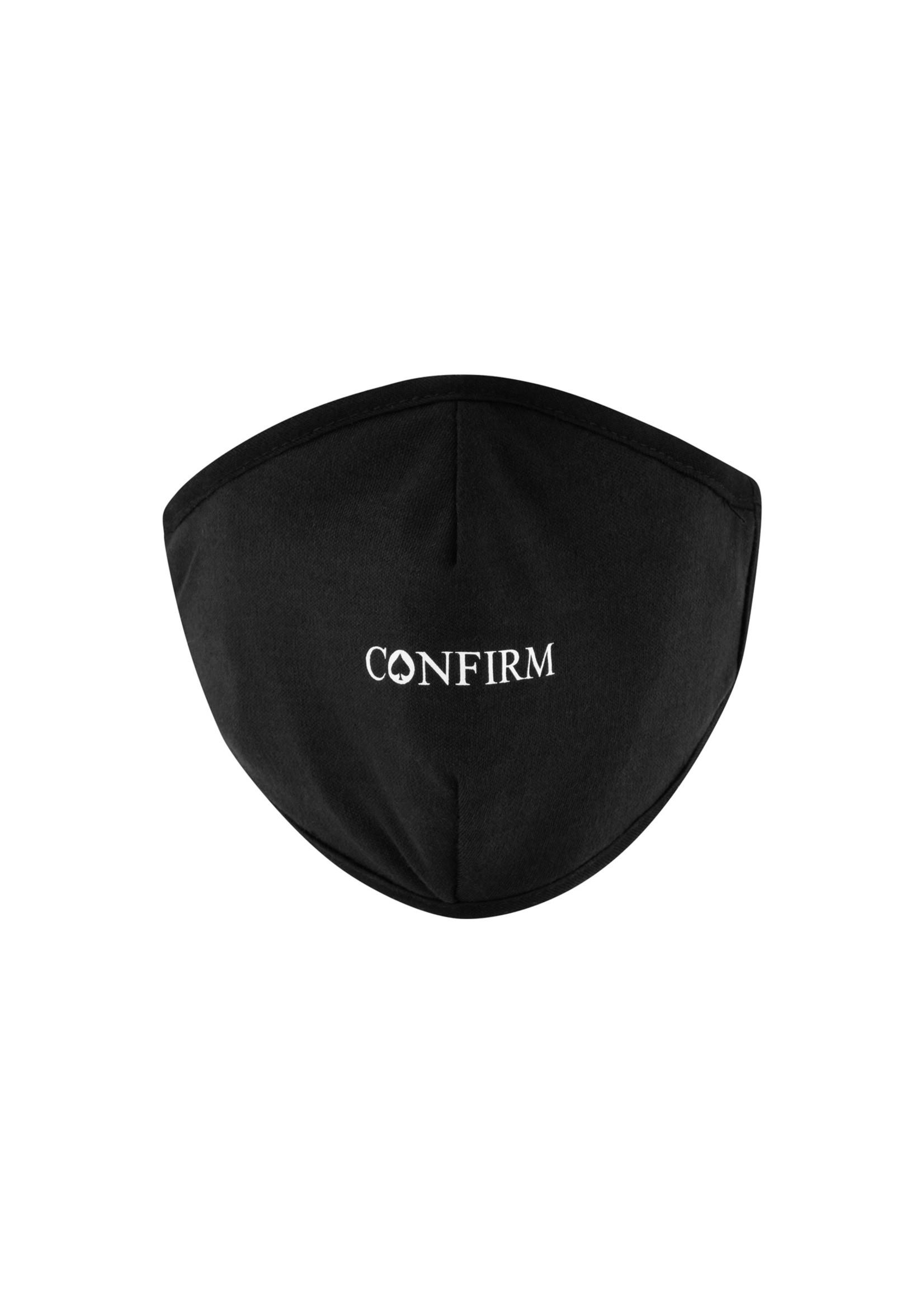 Confirm Mondkapje - zwart/wit